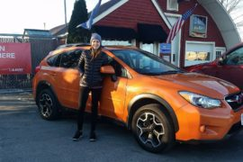 2013 Subaru Crosstrek XV- New owner Lyla O'Brien - Copy