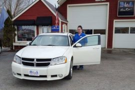 New Owner Dodge Avenger Sarah LaFlame - Copy