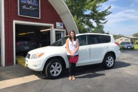 New Owner Toyota RAV 4 Sarah Gingras
