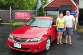 New Owners 2009 Subaru Impreza i Kerri and Jason Germain